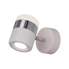 Светодиодный спот Eurosvet Oskar 20165/1 LED хром/белый