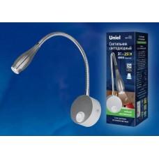 Бра (UL-00004241) Uniel ULT-F22-3W/4000K IP20 Silver