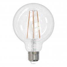 Лампа светодиодная филаментная (UL-00004865) Uniel E27 15W 4000K прозрачная LED-G95-15W/4000K/E27/CL PLS02WH