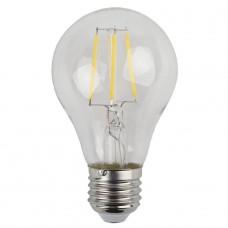 Лампа светодиодная филаментная ЭРА E27 18W 2700K прозрачная F-LED A60-5W-827-E27