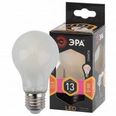 Лампа светодиодная филаментная ЭРА E27 13W 2700K матовая F-LED A60-13W-827-E27 frost