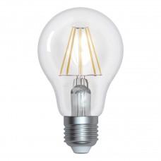 Лампа светодиодная филаментная (UL-00004869) Uniel E27 15W 4000K прозрачная LED-A70-15W/4000K/E27/CL PLS02WH