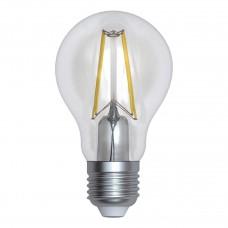 Лампа светодиодная филаментная (UL-00004866) Uniel E27 12W 3000K прозрачная LED-A60-12W/3000K/E27/CL PLS02WH
