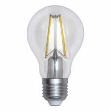 Лампа светодиодная филаментная (UL-00004867) Uniel E27 12W 4000K прозрачная LED-A60-12W/4000K/E27/CL PLS02WH