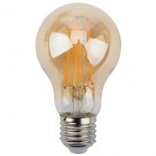 Лампа светодиодная филаментная ЭРА E27 11W 2700K золотая F-LED A60-11W-827-E27 gold