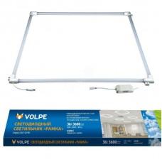 Встраиваемый светодиодный светильник (UL-00004087) Volpe ULO-Q190 6060-36W/6500K White