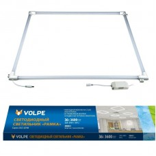 Встраиваемый светодиодный светильник (UL-00004086) Volpe ULO-Q190 6060-36W/4000K White