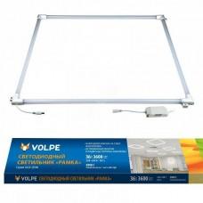 Встраиваемый светодиодный светильник (UL-00004085) Volpe ULO-Q190 6060-36W/3000K White