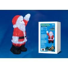 Фигурка светодиодная «Дед Мороз» 38х24x60см (UL-00002332) ULD-M3860-120/STA White IP20 Xmasman