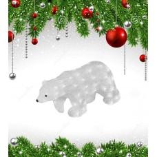Фигурка светодиодная «Белый медведь-3» 29x58см (11033) ULD-M5829-080/STA