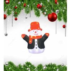 Фигурка светодиодная «Снеговик» 30x27 (09557) ULD-M2730-024/STA
