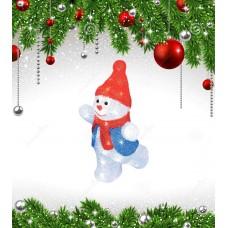 Фигурка светодиодная «Снеговик-2» 34x22см (11030) ULD-M2234-040/STA