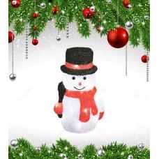 Фигурка светодиодная «Снеговик-3» 27x18см (11034) ULD-M1827-030/STA