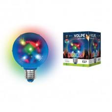 Светодиодный светильник-проектор (UL-00002761) Volpe Disko ULI-Q308 1,5W/RGB/E27