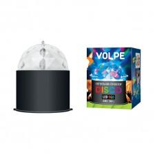 Светодиодный светильник-проектор (09840) Volpe Disco ULI-Q302 03W/RGB Black