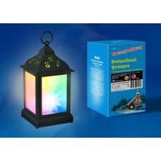 Переносной светодиодный фонарь Uniel (UL-00002311) 110х220 ULD-L1122-010/DTB/RGB/3D Black