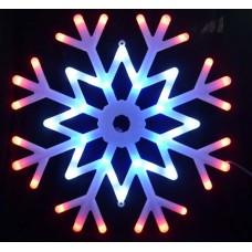 Подвесной светодиодный светильник «Снежинка » (UL-00001403) ULD-H4040-048/DTA MULTI IP20 SNOWFLAKE