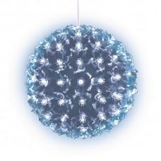 Подвесной светильник «Шар с цветами сакуры» d=15см (09571) ULD-H1515-100/DTA BLUE IP20