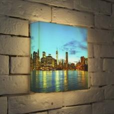 Лайтбокс NYC 2 25x25-110