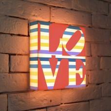 Лайтбокс LOVE 2 25x25-125