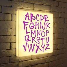 Лайтбокс Alphabet 45x45-003