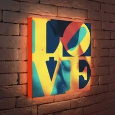 Лайтбокс LOVE 1 45x45-041