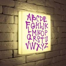 Лайтбокс Alphabet 35x35-003