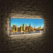 Лайтбокс панорамный NYC 60x180-p004