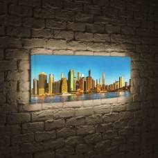 Лайтбокс панорамный NYC 35x105-p004
