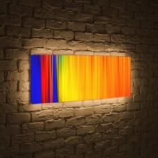 Лайтбокс панорамный Абстракция 2 60x180-p026