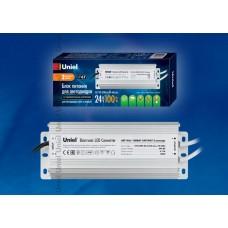 Блок питания для светодиодов Uniel (10589) 100W 4мА IP67 UET-VAJ-100B67