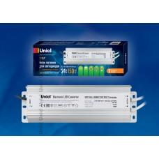 Блок питания для светодиодов Uniel (10590) 150W 6,25мА IP67 UET-VAJ-150B67