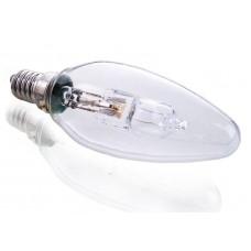 Лампа галогеновая Deko-Light e14 46w 2700k свеча прозрачная 332249