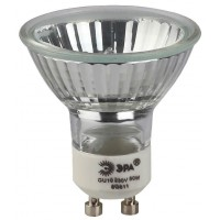 Лампа галогенная ЭРА GU10 35W 2700K прозрачная GU10-JCDR (MR16) -35W-230V