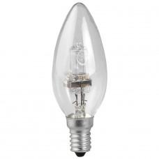 Лампа галогенная ЭРА E27 42W 2700K прозрачная HAL-B35-42W-230V-E14-CL