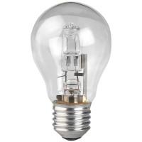 Лампа галогенная ЭРА E27 50W прозрачная HAL-A55-50W-230V-E27-CL