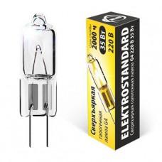Лампа галогенная Elektrostandard G4 35W сверхъяркая 4690389013645