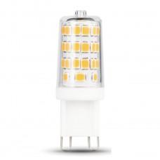 Лампа светодиодная Gauss диммируемая G9 3W 4100K кукуруза прозрачная 107309203