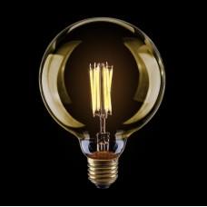Лампа светодиодная Voltega диммируемая E27 8W 2800К шар золотой VG10-G125Gwarm8W 6838