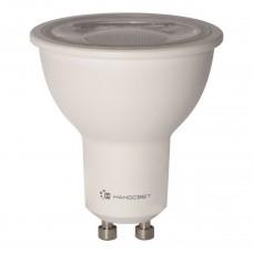Лампа светодиодная Наносвет диммируемая GU10 8W 4000K полусфера матовая LH-MR16-D-8/GU10/840 L243