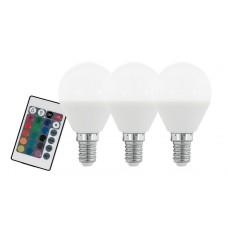 Лампа светодиодная Eglo диммируемая E14 4W 3000K матовая 10683