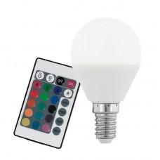 Лампа светодиодная Eglo диммируемая E14 4W 3000K матовая 10682