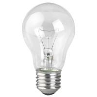Лампа накаливания ЭРА E27 75W 2700K прозрачная A50 75-230-E27 (гофра)