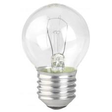 Лампа накаливания ЭРА E27 60W 2700K прозрачная ДШ 60-230-Е27 (гофра)