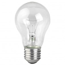 Лампа накаливания ЭРА E27 95W 2700K прозрачная A50 95-230-Е27 (гофра)