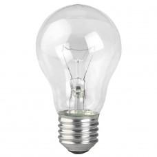 Лампа накаливания ЭРА E27 60W 2700K прозрачная A50 60-230-Е27-CL