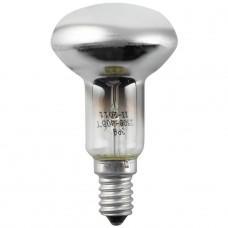 Лампа накаливания ЭРА E27 60W 2700K зеркальная R50 60-230-E14-CL