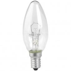 Лампа накаливания ЭРА E14 60W 2700K прозрачная ДС 60-230-Е14 (гофра)