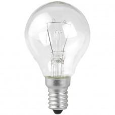 Лампа накаливания ЭРА E14 40W 2700K прозрачная ЛОН ДШ40-230-E14-CL