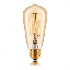 Лампа накаливания Sun Lumen E14 40W золотая 053-914